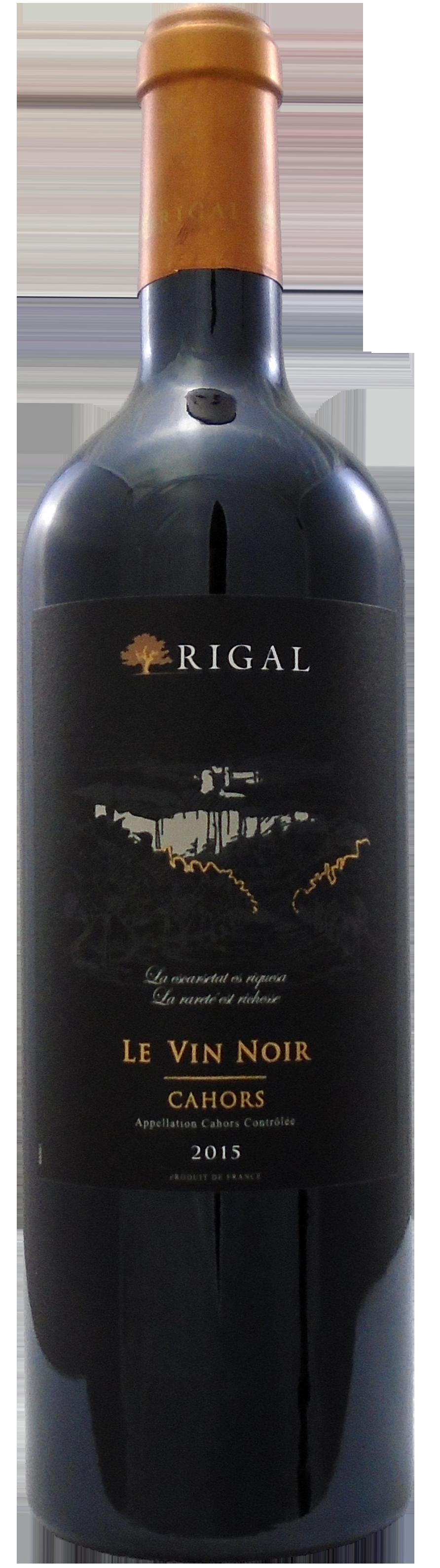 Rigal 'Le Vin Noir' Cahors Malbec 2015