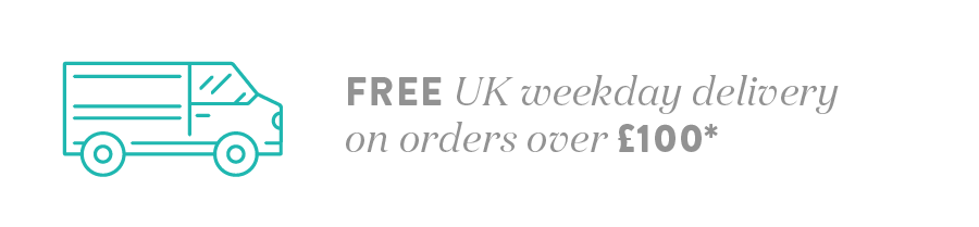 Free 2-3 day delivery on UK Mainland orders over £100*