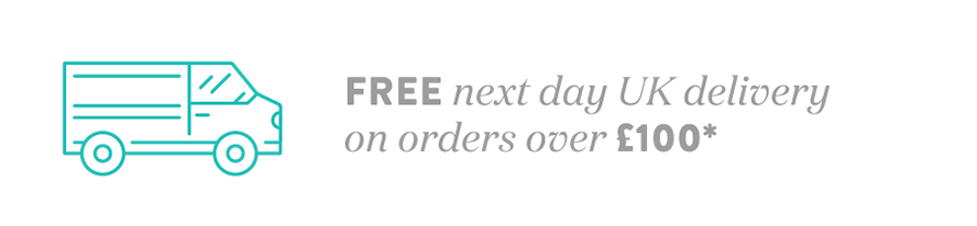 Free next day UK delivery on orders over £100*